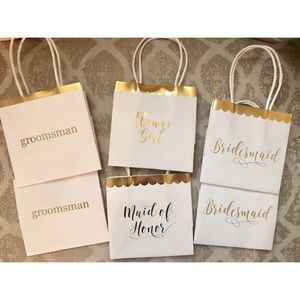 Bridal Party Gift Bags 🛍